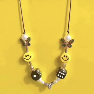 OFF-WHITE - EVAE SMILEY NECKLACE サルーテ 新品未使用❤️