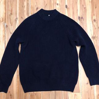 ユニクロ(UNIQLO)のUNIQLO モックネックセーター(ニット/セーター)