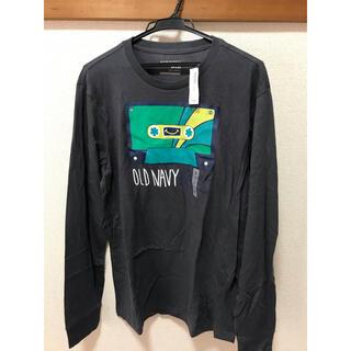 オールドネイビー(Old Navy)のOLD NAVY  ロングTシャツ L(Tシャツ/カットソー(七分/長袖))