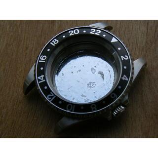 2836等搭載可能 40ミリカスタマイズケース ラグ穴ありです。 (腕時計(アナログ))