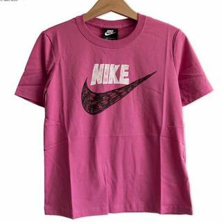 ナイキ(NIKE)の新品❣️ナイキ レディース グラフィック Tシャツ M(ピンク)(Tシャツ(半袖/袖なし))