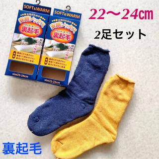 安眠快眠ソックス靴下 2足 レディース やわらかあったか裏起毛冷えとり