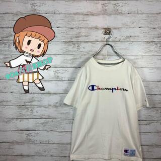 チャンピオン(Champion)の【大人気】チャンピオン Tシャツ デカロゴ 刺繍ロゴ カラフル オーバーサイズ(Tシャツ/カットソー(半袖/袖なし))