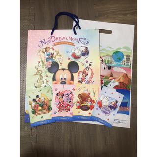 ディズニー(Disney)のディズニーホテル 紙袋 ディズニーホテル ポストカード ディズニーショッパー(ノベルティグッズ)