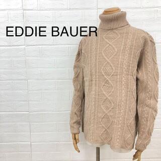 EDDIE BAUER エディーバブアー アランニット セーター ハイネック(ニット/セーター)