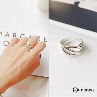 指輪 シルバーリング silver925 ツイスト 波形