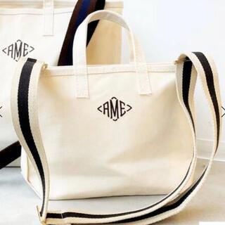 アパルトモンドゥーズィエムクラス(L'Appartement DEUXIEME CLASSE)の新品☆アパルトモン AMERICANA AME Tote Bag Mini(トートバッグ)