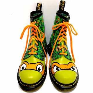 ドクターマーチン(Dr.Martens)のDr.Martens × タートルズ コラボ ブーツ 24cm アメコミ(ブーツ)