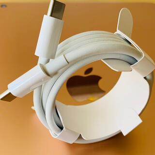 アイフォーン(iPhone)のApple純正USB-cケーブル2m(バッテリー/充電器)