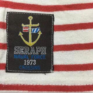 セラフ(Seraph)のSeraph/ボートネックボーダーロンT100/セラフ(Tシャツ/カットソー)