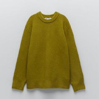 ZARA - ZARA 新品 オーバーサイズ ウールミックスセーター