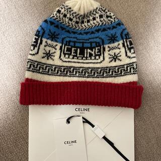 セリーヌ(celine)のCELINE 21ss ダンシングキッド ビーニー 正規品 新品未使用(ニット帽/ビーニー)