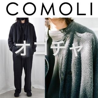 COMOLI - 21SS COMOLI シルクモッサ セットアップ チャイナジャケット