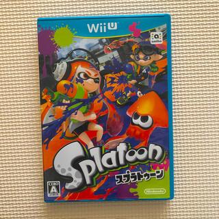 ニンテンドウ(任天堂)のSplatoon(スプラトゥーン) Wii U(家庭用ゲームソフト)