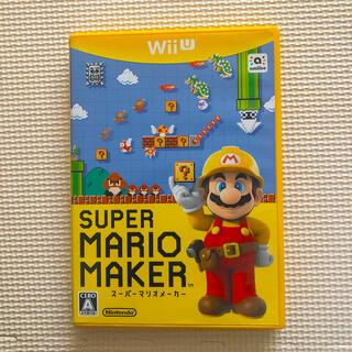 ニンテンドウ(任天堂)のWii U スーパーマリオメーカー(家庭用ゲームソフト)