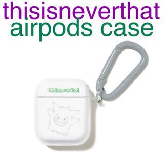 超人気 thisisneverthat AirPods Case ゲンガー(iPhoneケース)