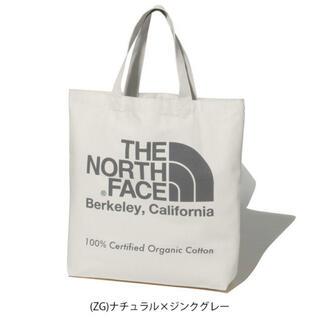 ザノースフェイス(THE NORTH FACE)の20年モデル 新品 未使用 ノースフェイス オーガニックコットン トート 灰(トートバッグ)