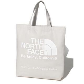 ザノースフェイス(THE NORTH FACE)の20年モデル 新品 未使用 ノースフェイス オーガニックコットン トート  白(トートバッグ)