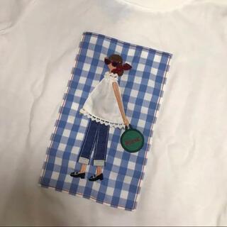 familiar - 新品・タグ付き ファミリア 女の子Tシャツ 140