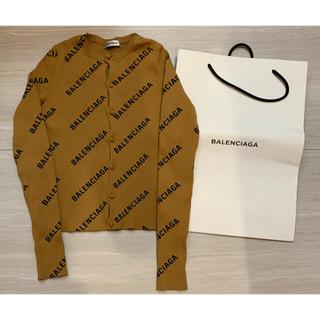 Balenciaga - バレンシアガ  BALENCIAGA ロゴカーディガンニット 即発送