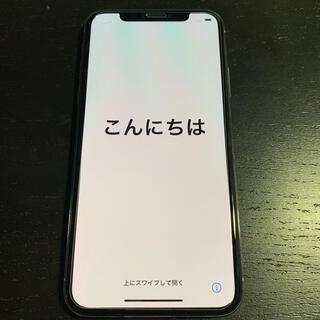 アイフォーン(iPhone)のiPhone X 64GB シルバー SIMフリー 美品(スマートフォン本体)