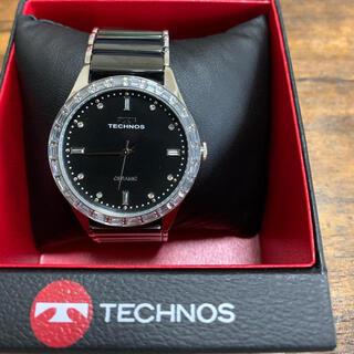 テクノス(TECHNOS)の腕時計テクノス ブラック (腕時計(アナログ))