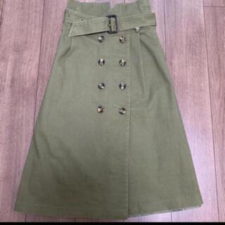 フリーズマート(FREE'S MART)のハイウエストスカート(ひざ丈スカート)