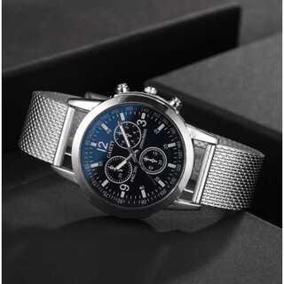 新品 デュアル クロノグラフ GAIETY 腕時計メンズ ラグジュアリー(腕時計(アナログ))