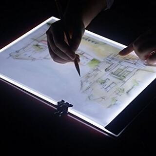 トレース台 A4 薄型 トーレスパネル LED3段調光(コミック用品)