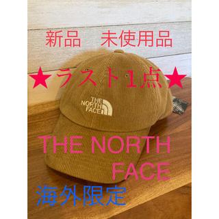 ノースフェイス キャップ ブラウン コーデュロイ ホワイトレーベル 韓国
