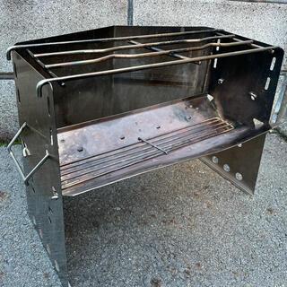 ユニフレーム(UNIFLAME)のユニフレーム 薪グリル レギュラーサイズ(調理器具)