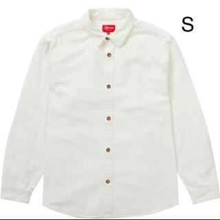 シュプリーム(Supreme)のLogo Taping Work Shirt S(シャツ)