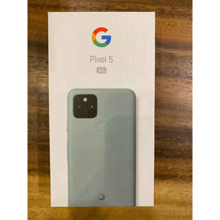 Google Pixel - 新品未使用品 Google pixel5 5G 128GB グリーン