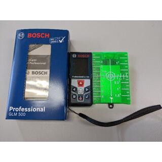 ボッシュ(BOSCH)のBOSCHレーザー距離計 GLM 500 Professional ターゲット付(オフィス用品一般)