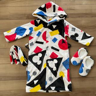 ディズニー(Disney)のモダンデコ 着る毛布 ディズニー キッズ パジャマ(毛布)