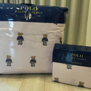 ラルフローレン ポロベア ツイン シーツ セット 新品 掛け布団 寝具 ベッド