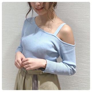 dazzlin - 【dazzlin】ワンショルリブニット♡新品タグ付き