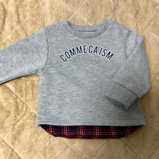 COMME CA ISM - 【コムサイズム】トレーナー 80サイズ