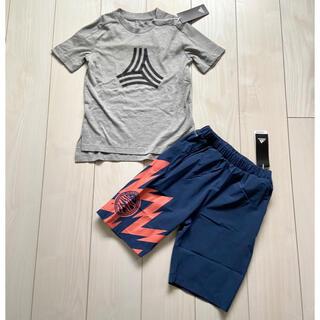 adidas - 新品 adidas Tシャツ ハーフパンツ 上下セット 男の子 130