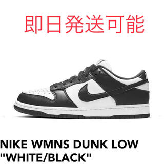 NIKE - NIKE WMNS DUNK LOW  WHITE/ BLACK 27.5cm