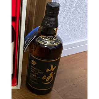 サントリー(サントリー)の山崎18年ピュアモルト750mi(ウイスキー)