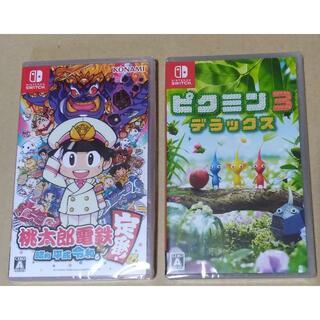 Nintendo Switch - 未開封スイッチ2本 桃鉄+ピクミン