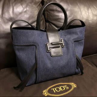 TOD'S - 【ほぼ未使用】TOD'S / DOUBLE T Shopping Bag
