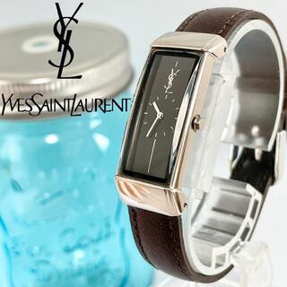 Saint Laurent - 225 イヴサンローラン時計 レディース腕時計 新品電池 新品ベルト スクエア