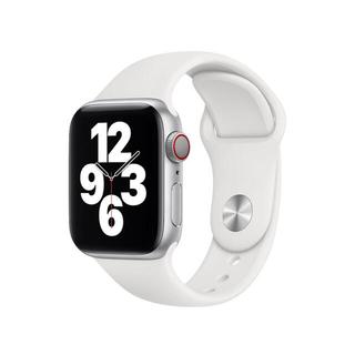 アップルウォッチ(Apple Watch)のApple Watch バンドホワイト(ラバーベルト)