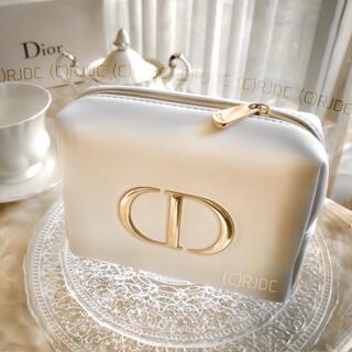 Dior - 【新品未使用】ディオール 最高級シリーズ ゴールドロゴ 非売品ポーチ 国外限定