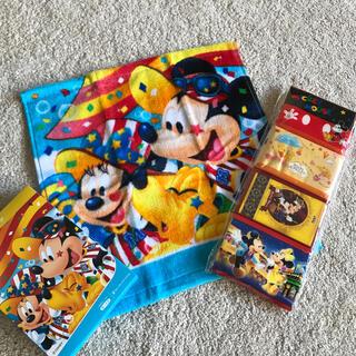 ディズニー(Disney)のディズニータオル(タオル/バス用品)