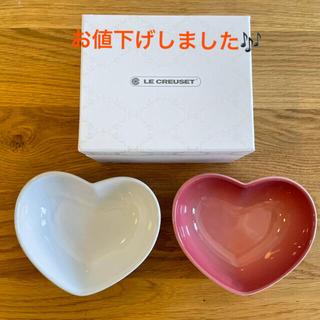 LE CREUSET - ル・クルーゼ ハート型小皿2枚セット