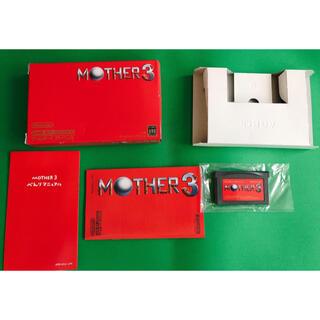 ゲームボーイアドバンス(ゲームボーイアドバンス)のGBA ゲームボーイアドバンス マザー3 箱説明書付 MOTHER3(携帯用ゲームソフト)