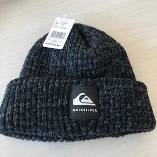 クイックシルバー(QUIKSILVER)の週末限定値下げ 新品 クイックシルバー ニット帽(ニット帽/ビーニー)